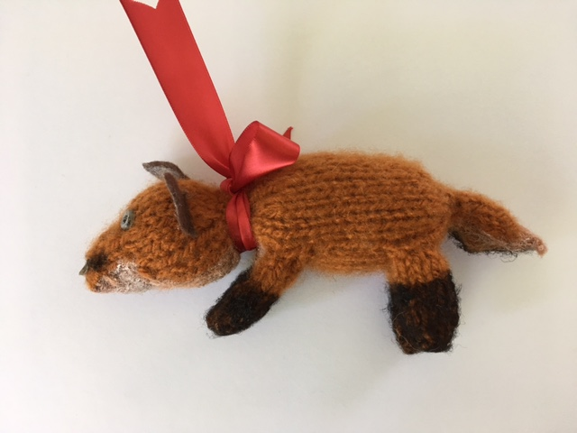 Fox ornament
