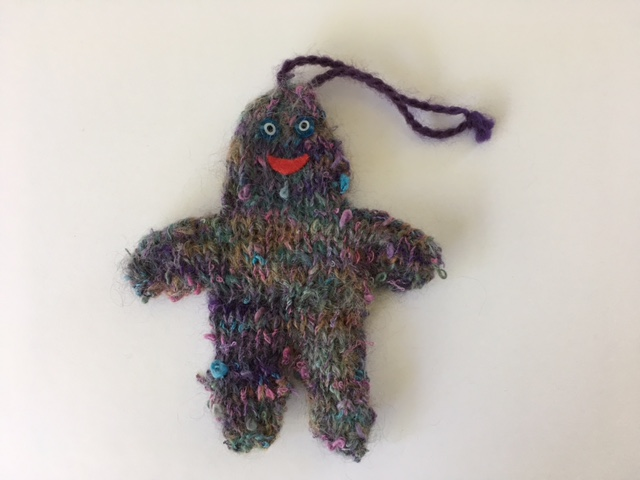 Inimitable Yarn man ornament