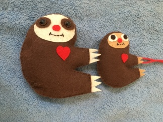 Big and little sloths
