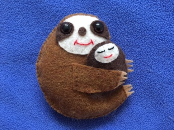 Mother's Day Sloth