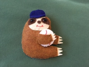 Baseball Sloth