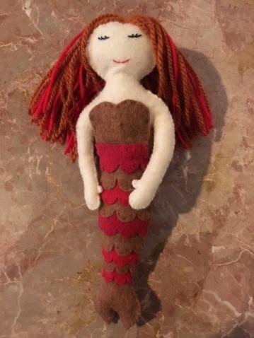 Mermaid - red
