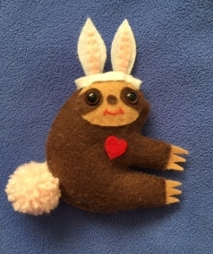 Slothy Cotton Tail
